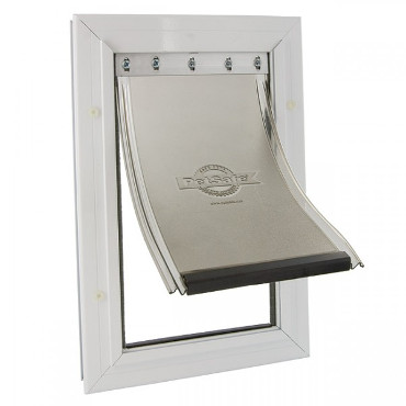 Pet safe dog door